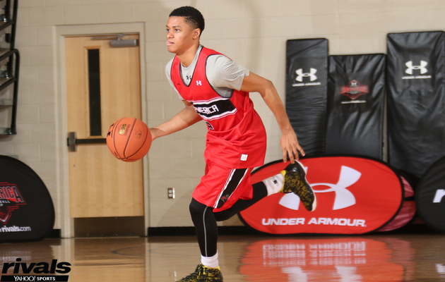 CHARLOTTE, NC - JULY 8: during the 2015 Under Armour All-America Basketball Camp on July 8, 2015 at Queens College in Charlotte, NC. (Photo by Ned Dishman/Under Armour)